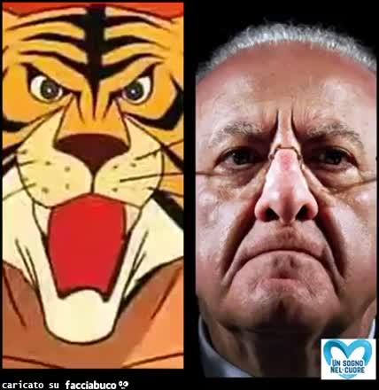 Uomo tigre De Luca contro tutti